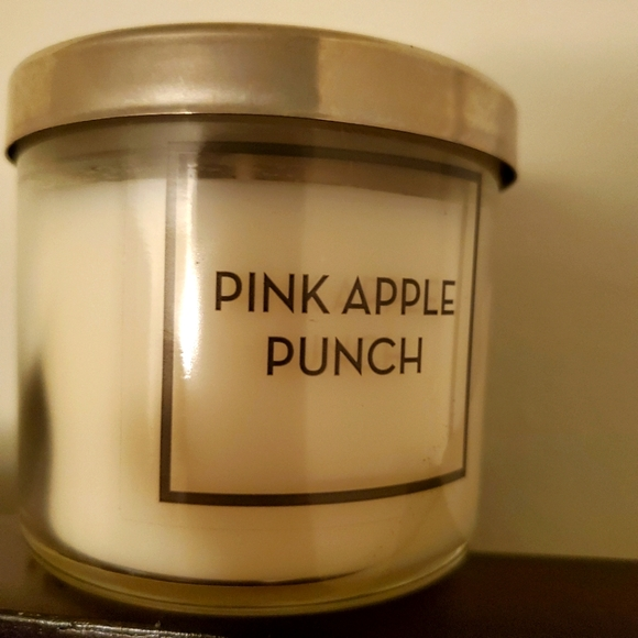 Bath & Body Works Pink Apple Punch Tester Candle